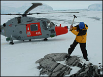 Eklund Island (BBC)