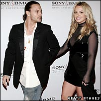 Kevin Federline and Britney Spears in 2006