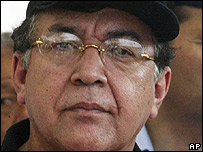 El presidente de Paraguay, Nicanor Duarte