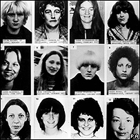 Victims of the Yorkshire Ripper