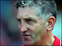 Cork manager Teddy Holland
