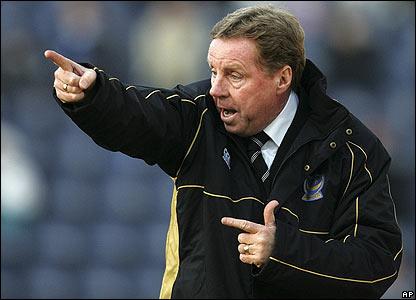 Portsmouth boss Harry Redknapp looks to inspire his side
