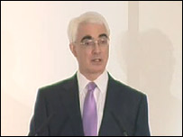 Alistair Darling announces the nationalisation