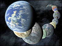 Illustration of planets. Picture credit: Nasa