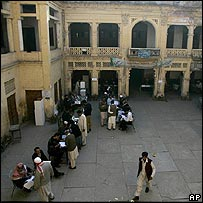 Voting in Rawalpindi