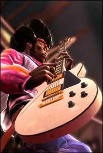Screenshot from Guitar Hero III, Red Octane