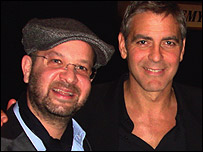 Daniel Barber and George Clooney
