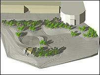 Landscape project impression