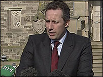 Ian Paisley Jr has stepped down as a junior minister