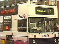 First Eastern Counties bus