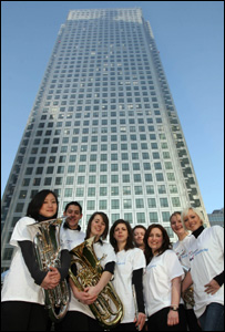 Cardiff entertainers take to the streets of London to celebrate the launch of Cardiff's first ever city place brand