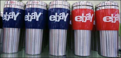 eBay mugs on sale, AP