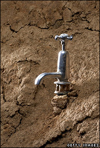 Tap in a mud-bank (Image: Toledano/Getty Images)
