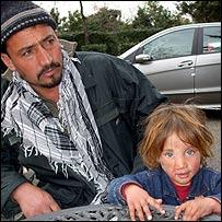 Shabana and her father, Janat Gul