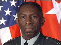 Gen William Ward - Africom commander