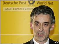 New Deutsche Post CEO Frank Appel