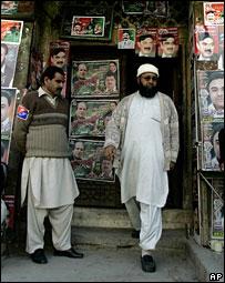 Voters in Pakistan