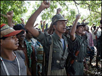 Maoists rebels in Chhattisgarh