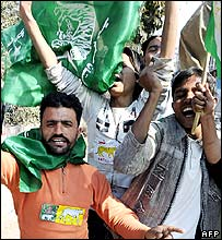 PML_N supporters celebrate in Lahore