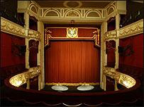 Perth Theatre stage