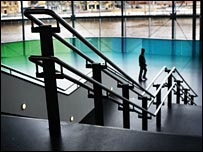 Stairwell at the Sage Music Centre, Gateshead