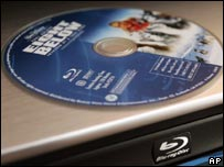 Blu-ray disc and player