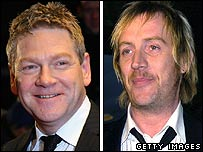 Kenneth Branagh and Rhys Ifans