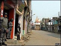 The Nepalese border town of Nepalgunj