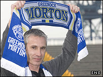 David Irons is the new manager of Morton