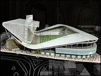 BBC NEWS | UK | England | Leicestershire | New stadium ...