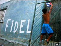 Graffiti in Havana, Cuba