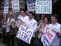 Taxpayers' Alliance protest