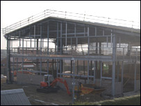 Wolds College development photo by Chris Howell