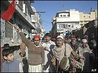 ANP supporters in NWFP