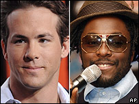 Ryan Reynolds and will.i.am