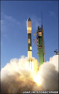 Launch of National Reconnaissance Office satellite on December 14 2006 from Vandenberg Air Force Base (USAF/Michael Stonecypher)