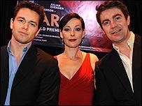 Julian Ovenden, Ruthie Henshall and Alexander Hanson