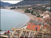 Building site on the Montenegrin coast