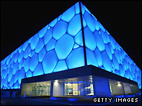 The Water Cube venue in Beijing