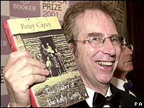 Two-time Booker winner Peter Carey