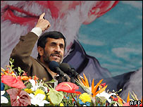 President Mahmoud Ahmadinejad - 11 Feb 2008