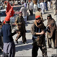 ANP supporters in Karachi