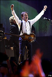 Sir Paul McCartney at the Brit Awards