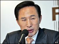 President-elect Lee Myung-bak (file image)
