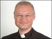 the Bishop of St David's, Rt Rev Carl Cooper