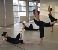 Dancers at the Brit School