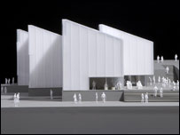 Model of Turner Contemporary