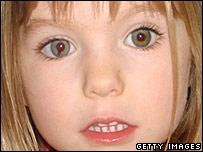 Madeleine McCann's eye