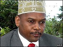 Anjouan leader Mohamed Bacar
