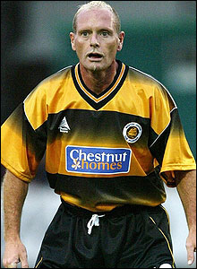 Paul Gascoigne in action for Boston United